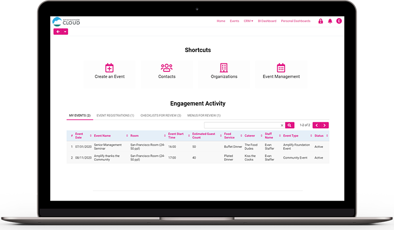 Streamline managing events from start to finish