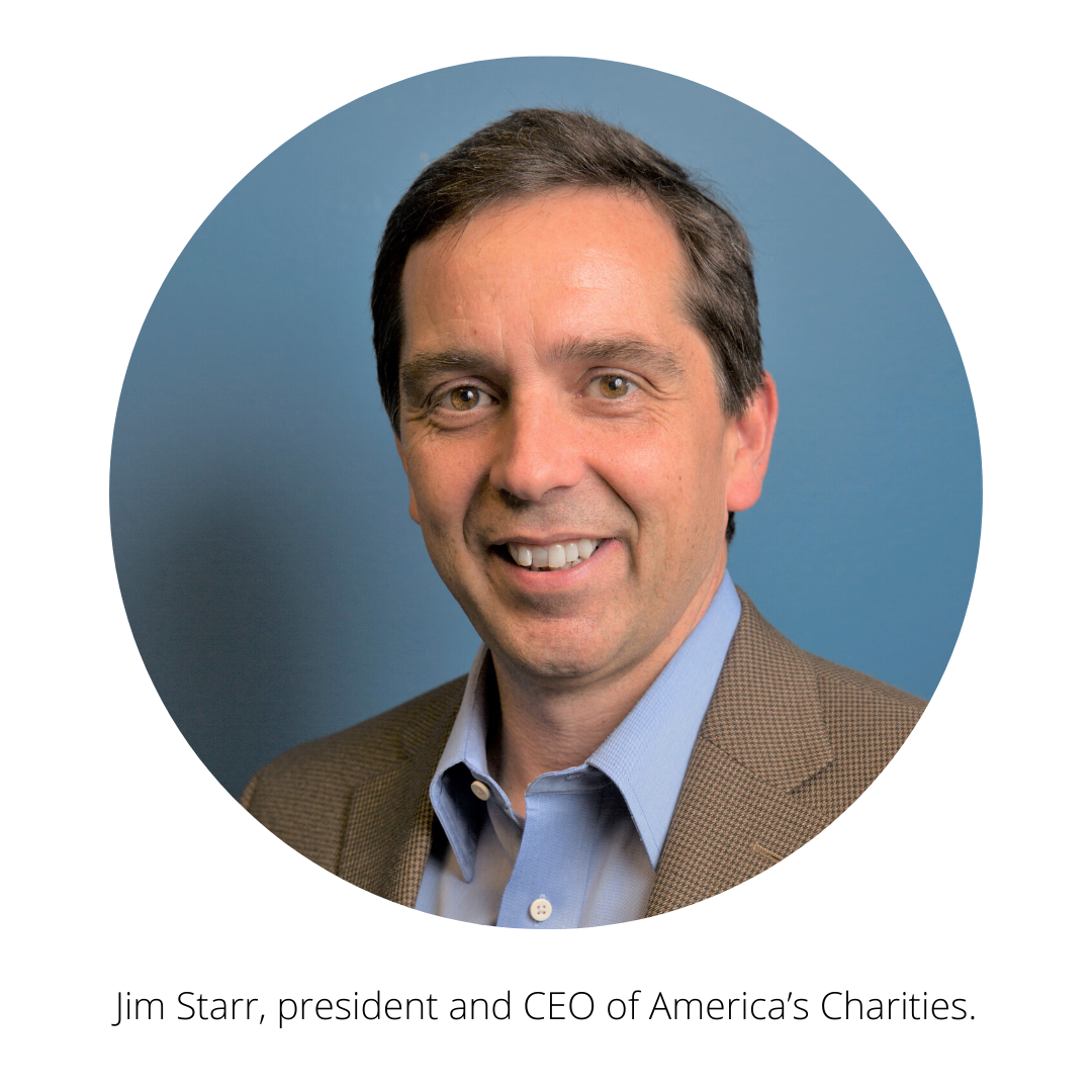 Jim Starr, president and CEO of America's Charities.