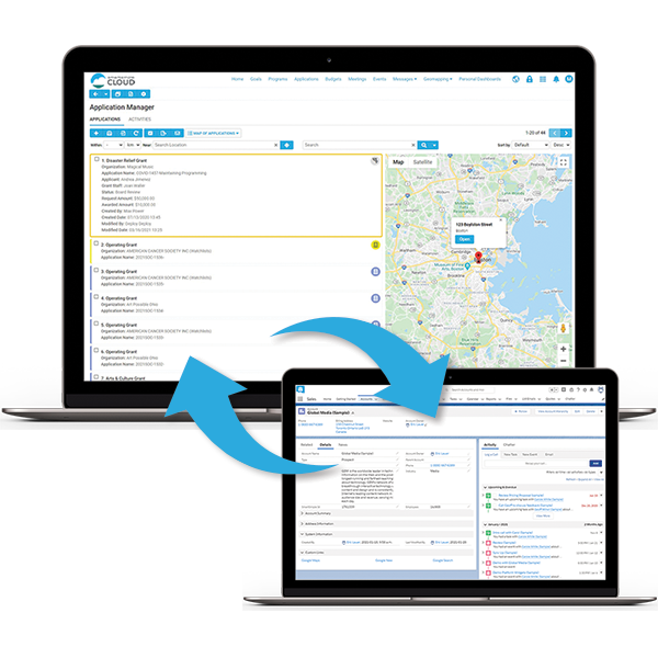 Sync your data across platforms for greater context and deeper relationships