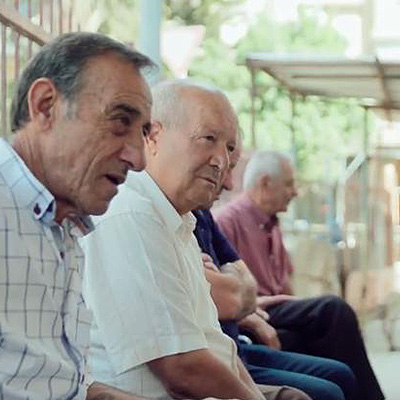 Photo of elderly men - Bader Philanthropies and SmartSimple
