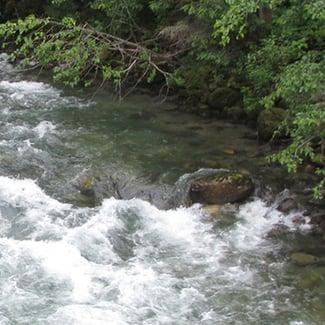 B.C. river