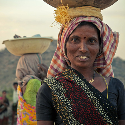 Photo of Indian lady - A global corporate foundation and SmartSimple