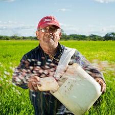 Photo of a farmer - SmartSimple has unique user portals
