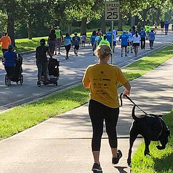 Photo of a walking event - GROW Central Florida and SmartSimple