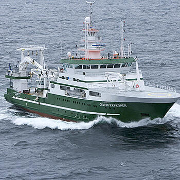 Photo of a ship - Marine Institute of Ireland and SmartSimple