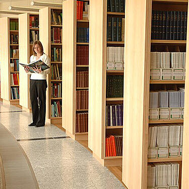 Photo of the Marine Institute library - SmartSimple is the solution for everyone