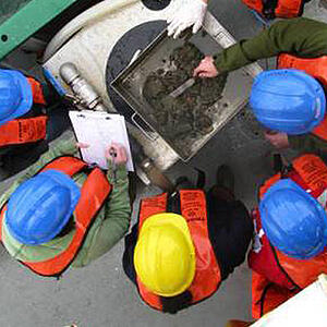 Photo of marine workers - Marine Institute works with the SmartSimple team