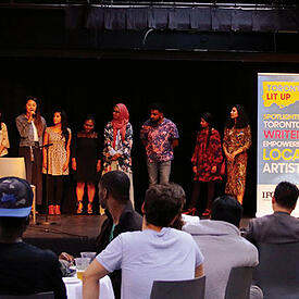 Photo of Toronto Arts Council event - Toronto Arts Council happily recommends SmartSimple for grants management system