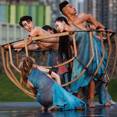 Photo of dancers - A SmartSimple  feature enhances funding transparency