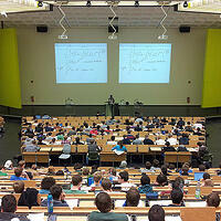 Photo of a lecture hall - Universities Canada and SmartSimple