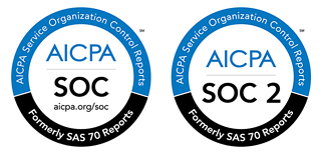SOC1 and SOC2 logos