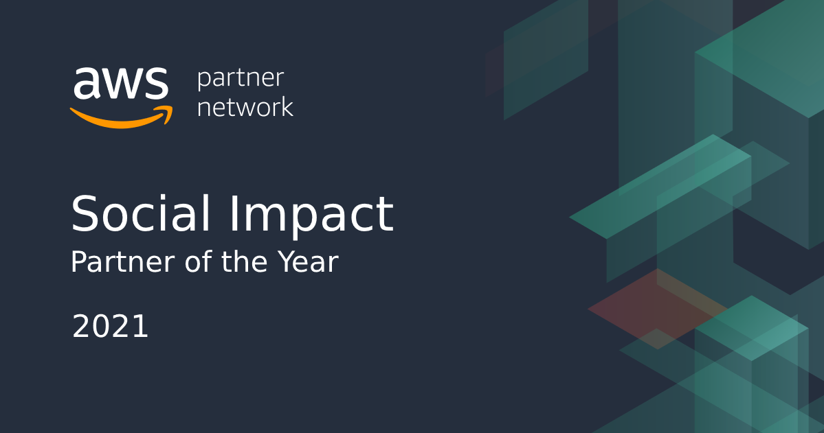 SmartSimple Software has been named Social Impact Partner of the Year by Amazon Web Services