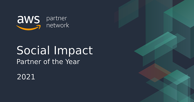 AWS Social Impact Partner of the Year image banner