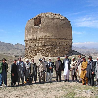 Conservation of Buddhist-era built heritage