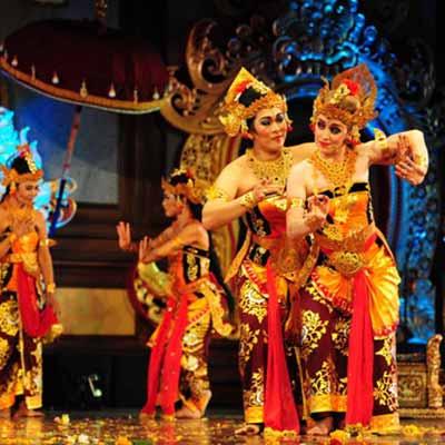 A dance performance