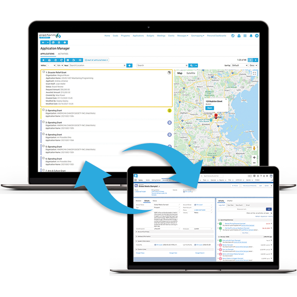 Sync your CRM data between Platform3 and Salesforce