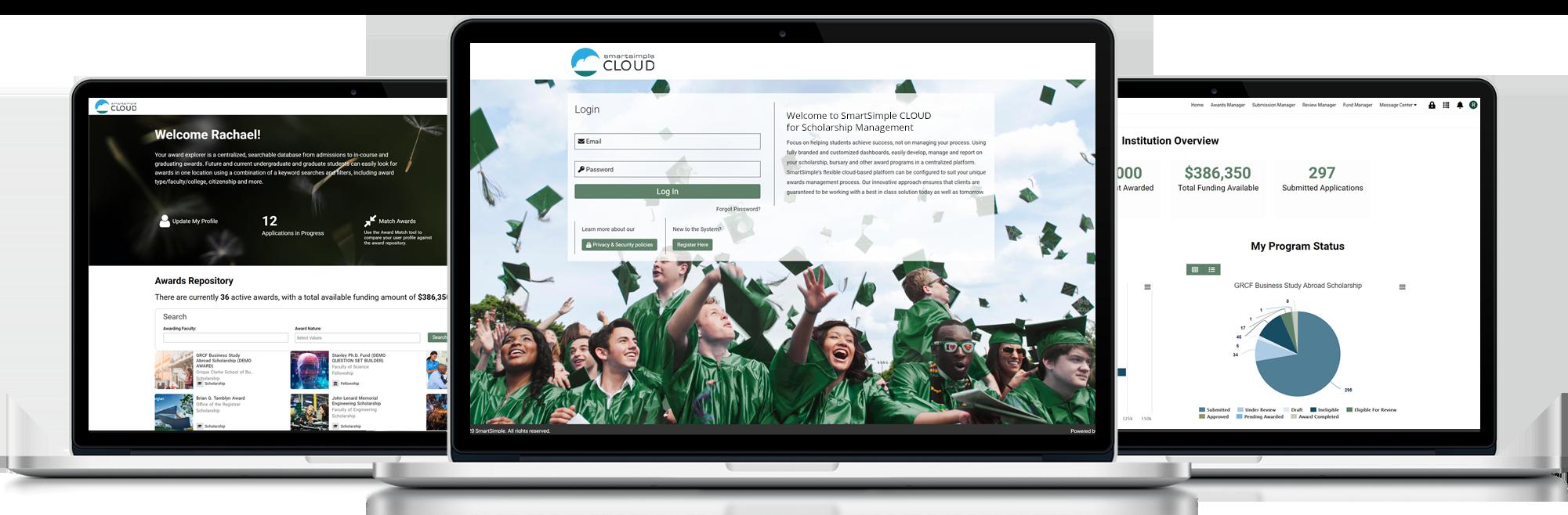 SmartSimple Cloud for Scholarship Management