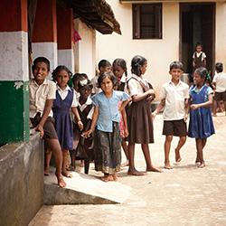 Children in a third world country