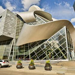 An Edmonton building