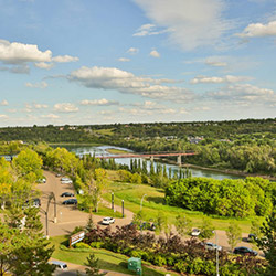 Edmonton landscape.